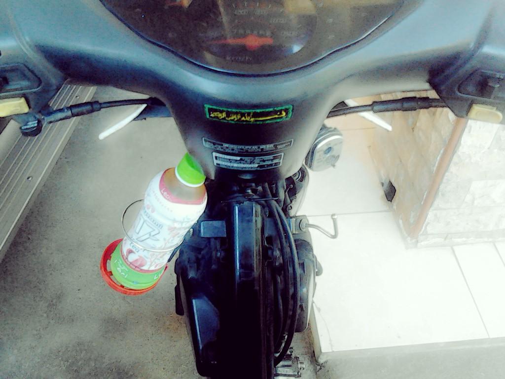 Harga Jual Stang Jepit Byson Pasang Di New Clip On Uk333741 Black Tempat Botol Minum
