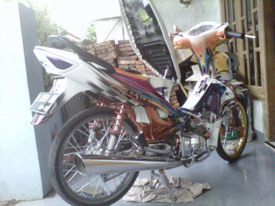 ide modifikasi motor supra fit new