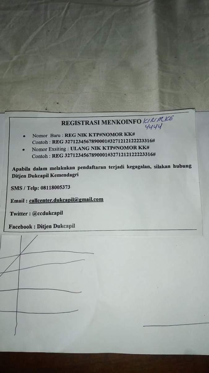 Registrasi SIM card lewat Grapari selalu gagal, di suruh hubungi nomor Dukcapil tapi tidak pernah ditanggapi