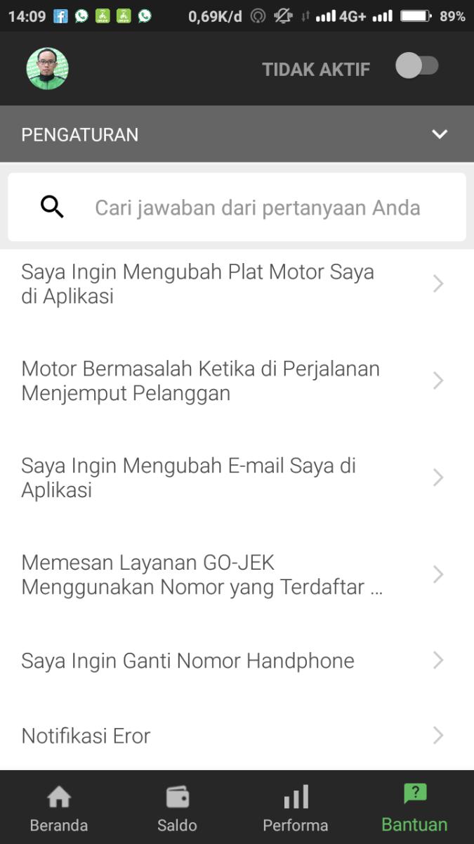 Tutorial driver Gojek: Cara ganti plat nomor kendaraan tanpa ke DSU