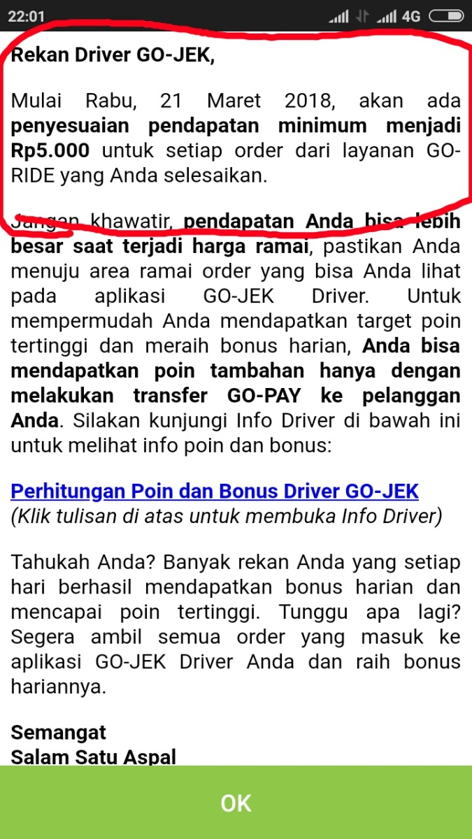 """Ini penyebab Driver Gojek Solo Raya """"menangis"""" saat mendapat order Goride"""