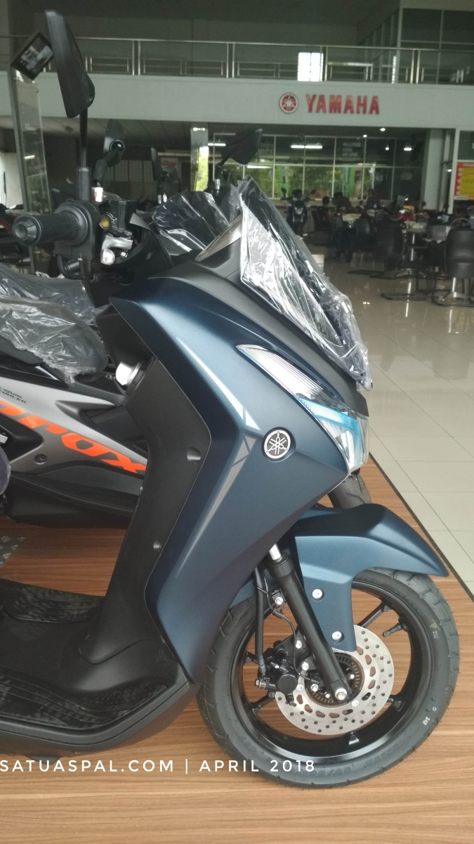 Review First Impression Yamaha Lexi 125, Dimensinya Gede Lur